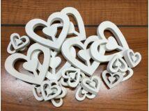 Fehér fa szívek lukas vegyes