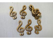 Natúr fa - Violinkulcs 5cm