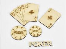 Natúr fa - Poker csomag 5db/cs