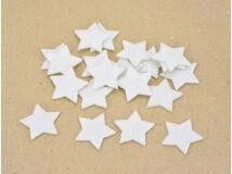 Filc - Csillag fehér 3cm 20db/csomag