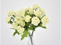7 ágú mini rózsa csokor krém