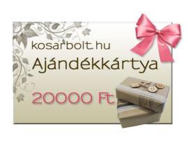 ARANY ajándékkártya + házhozszállítás