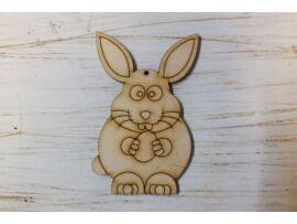 Natúr fa - Funny bunny 10cm