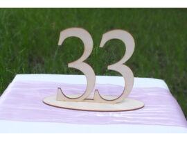 Natúr fa Asztalszám 33-as