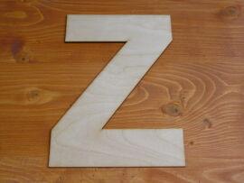 Natúr fa betű hagyományos 24cm