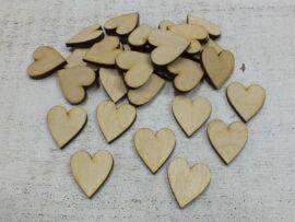 Natur fa szív 30db/csomag