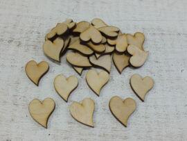 Francia szív 3cm 30db/csomag