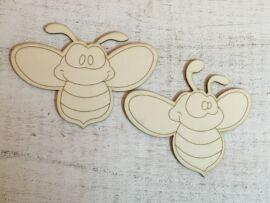 Natúr méhecskék 10cm 2db/csomag