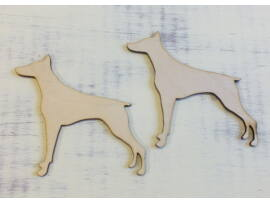 Kutya dobermann 2db/csomag