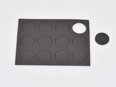 Mágneskorong 1,27cm 12db/csomag