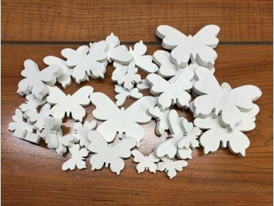 Fehér fa pillangók vegyes