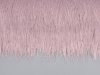 Prémium műszőrme rózsaszín 60cm x 1,9méter - OKOS ÁR!