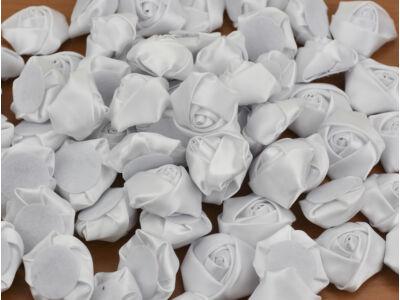 Esküvői szatén rózsafejek 3,5cm 100db/cs - OKOS ÁR!