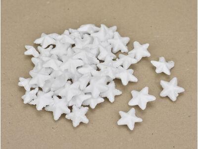 Polisztirol csillag 2,5cm 50db/csomag