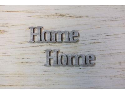 Home felirat koptatott szürke