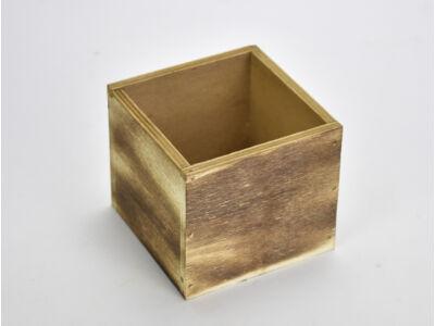 Dekoláda rusztikus kocka 9x9cm, mag:8cm