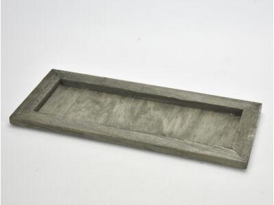 Fa keret hamvas zöld 35x15cm, mag:1,3cm