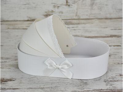 Bölcső doboz fehér