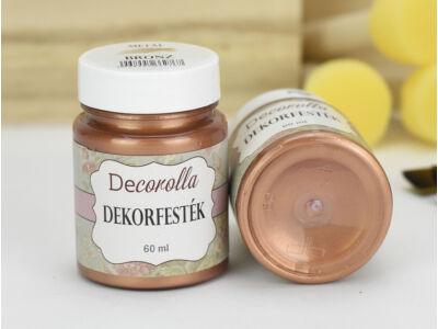 Decorolla metál dekorfesték 60ml bronz