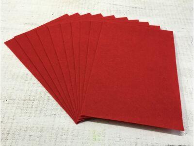 Filc A4-es 1-1,5mm 10ív/csomag - élénk piros