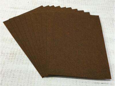Filc A4-es 1-1,5mm 10ív/csomag - gesztenye barna