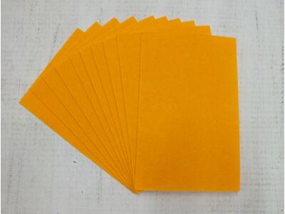 Filc A4-es 1-1,5mm 10ív/csomag - világos narancssárga