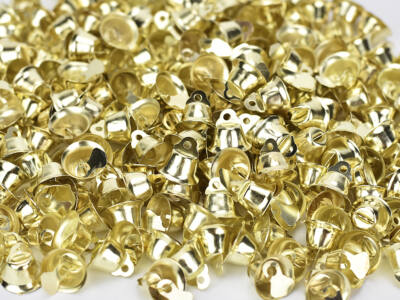 Fém kiscsengő arany 2000db/cs - OKOS ÁR!