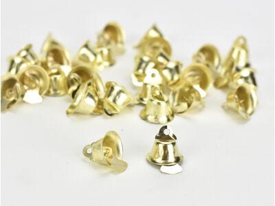 Fém kiscsengő arany 30db/csomag
