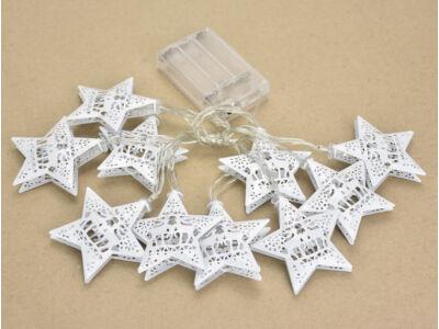 Világító girland dekoráció - csillag