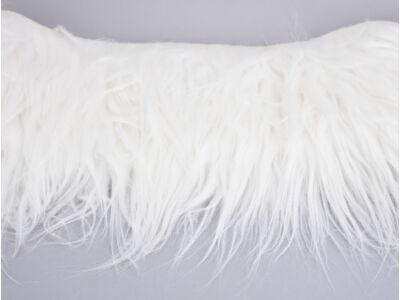 Kócos műszőrme fehér 60cm x 1,8méter - OKOS ÁR!
