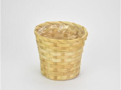 Bambusz kaspó natúr 16cm