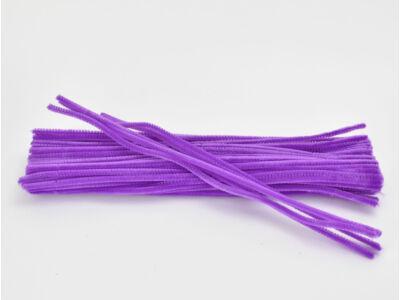 Zsenília drót - lila 100db/csomag