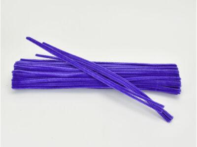 Zsenília drót - sötétlila 100db/csomag