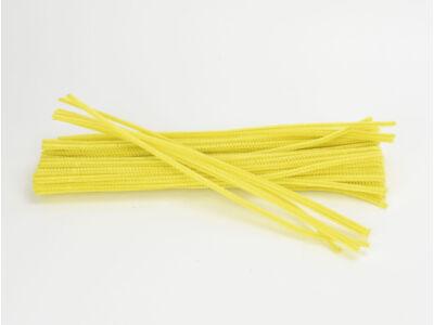 Zsenília drót - sárga 100db/csomag