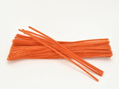 Zsenília drót - UV narancs 100db/csomag