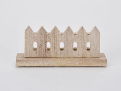 Natúr fa kerítés