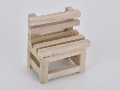 Natúr fa szék