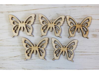 Fa pillangó 5db/csomag