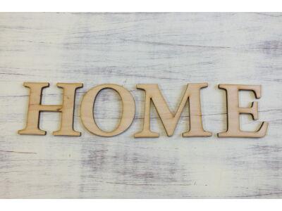 """Natúr fa - """"HOME"""" betűk"""