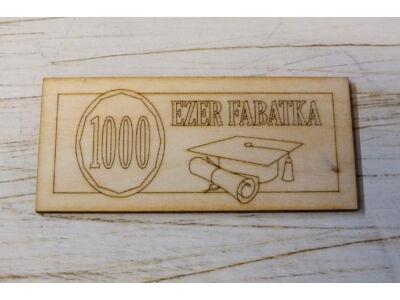 Natúr fa - Fabatka 1000
