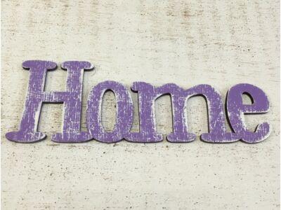 Home felirat lila