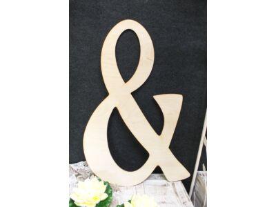 """Natúr fa - Óriás """"&"""" betű"""