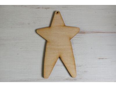 Natúr fa - Country csillag 18cm