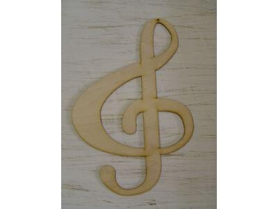 Natúr fa - Violin kulcs 37cm