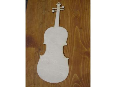 Natúr fa - Hegedű 20cm