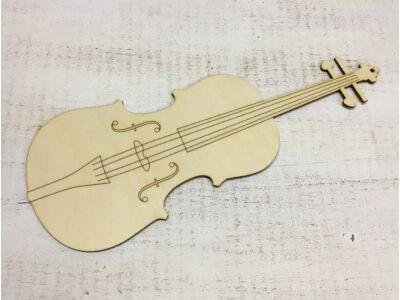 Natúr fa - Hegedű 37cm