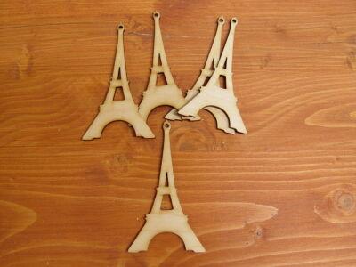 Natúr fa - Eiffel torony kicsi