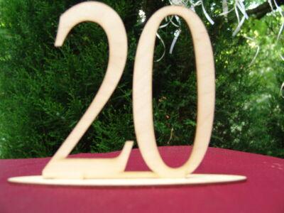 Natúr fa - Asztalszám 20-as