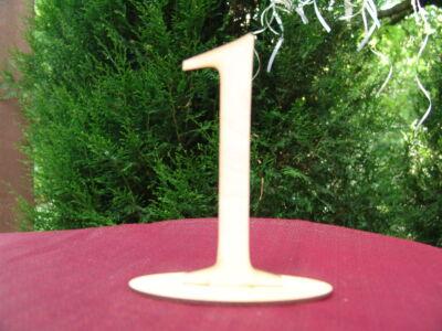 Natúr fa - Asztalszám 1-es