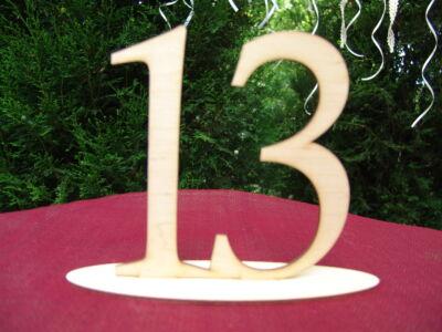 Natúr fa - Asztalszám 13-as